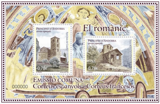 [Churches - Joint Issue with French Andorra, type ]
