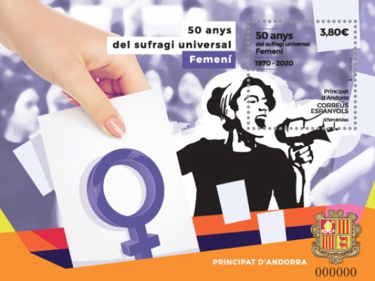 [The 50th Anniversary of Women's Suffrage, Typ ]
