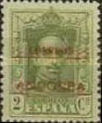 """[Spanish Postage Stamps Overprinted """"CORREOS - ANDORRA"""", type A]"""
