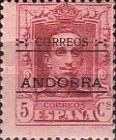 """[Spanish Postage Stamps Overprinted """"CORREOS - ANDORRA"""", type A1]"""
