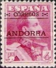 """[Spanish Postage Stamps Overprinted """"CORREOS - ANDORRA"""", type A11]"""