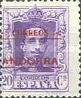"""[Spanish Postage Stamps Overprinted """"CORREOS - ANDORRA"""", type A5]"""