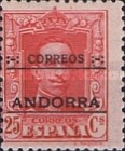 """[Spanish Postage Stamps Overprinted """"CORREOS - ANDORRA"""", type A6]"""