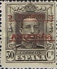 """[Spanish Postage Stamps Overprinted """"CORREOS - ANDORRA"""", type A7]"""