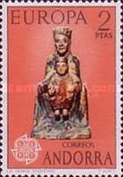[EUROPA Stamps - Sculptures, type AT]