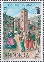 [Stamp Exhibition ESPAÑA 75, type BC]