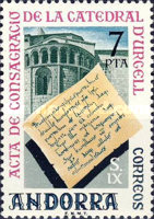 [The 1100th Anniversary of Urgel Catedral, type BD]