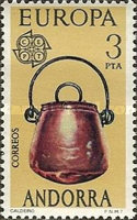 [EUROPA Stamps - Handicrafts, type BG]