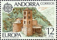 [EUROPA Stamps - Monuments, type BV]