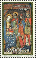 [Christmas Stamps, type BY]