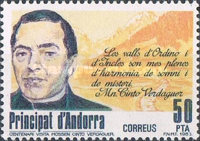 [The 100th Anniversary of the Poet Verdaguer's Visit, type DP]