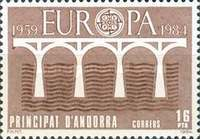[EUROPA Stamps - Bridges - The 25th Anniversary of CEPT, type DV]
