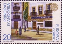 [EUROPA Stamps - Post Offices, type FD]