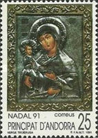 [Christmas Stamp, type FN]