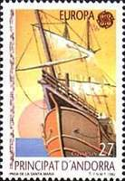 [EUROPA Stamps - Voyages of Discovery in America, type FP]