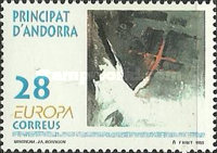 [EUROPA Stamps - Contemporary Art, type FV]