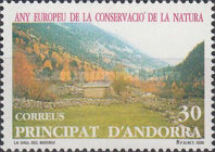 [European Nature Preservation Year, type GE]