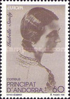 [EUROPA Stamps - Famous Women, type GL]