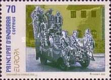 [EUROPA Stamps - Festivals and National Celebrations, type GW]