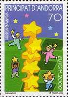[EUROPA Stamps - Tower of 6 Stars, type HI]