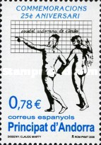 [The 25th Anniversary of the Andorran Sciences Society, type JZ]
