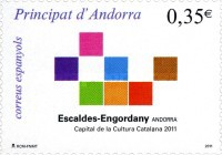 [Escaldes-Engordany - Capital of Catalan Culture 2011, type KZ]
