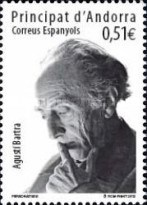 [The 30th Anniversary of the Death of Agustí Bartra, 1908-1982, type LK]