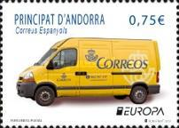 [EUROPA Stamps - Postal Vehicles, type LX]