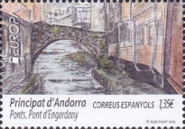 [EUROPA Stamp - Bridges, type OE]