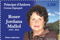 [Women of Andorra - Roser Jordana Mallol, 1942-2014, type OF]