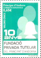[Civic Values - The 10th Anniversary of the Privada Tutelar Foundation, type OK]