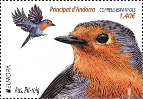[EUROPA Stamps - National Birds, type OS]