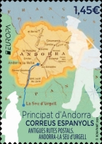 [EUROPA Stamps - Ancient Postal Routes, Typ PH]