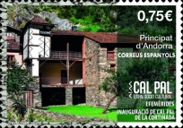 [Andorran Cultural Heritage - Opening of the Cal Pal Pairal House, type PI]