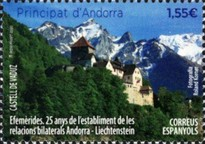 [Landscapes - The 25th Anniversary Since the Launch of Bilateral Relations with Liechtenstein, Typ PN]