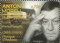 [The 80th Anniversary of the Birth of Antoni Morell, 1921-2020, type PW]