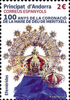 [The 100th Anniversary of the Coronation of Mary of God of Meritxell, type QC]
