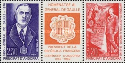 [The 100th anniversary of the birth of General de Gaulle, Typ ]