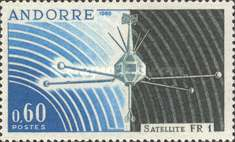 [The first French satellite, type AL]