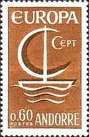 [EUROPA Stamps, type AM]
