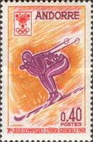 [Winter Olympic Games - Grenoble, France, Typ AU]