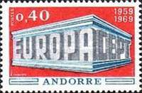 [EUROPA Stamps, Typ BA]