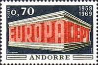 [EUROPA Stamps, Typ BA1]