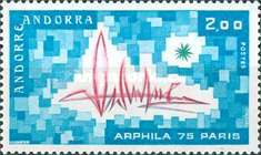 [Stamp exhibition ARPHILA 75, Typ CX]