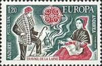 [EUROPA Stamps - Handicrafts, type DD]