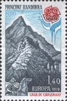 [EUROPA Stamps - Monuments, type DT]