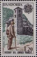[EUROPA Stamps - Post & Telecommunications, type DZ]