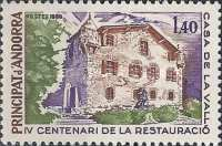 [The 400th anniversary of the reconstruction of Casa de la Vall, type EM]