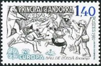 [EUROPA Stamps - Folklore, type EP]