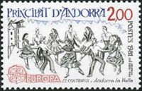 [EUROPA Stamps - Folklore, type EQ]
